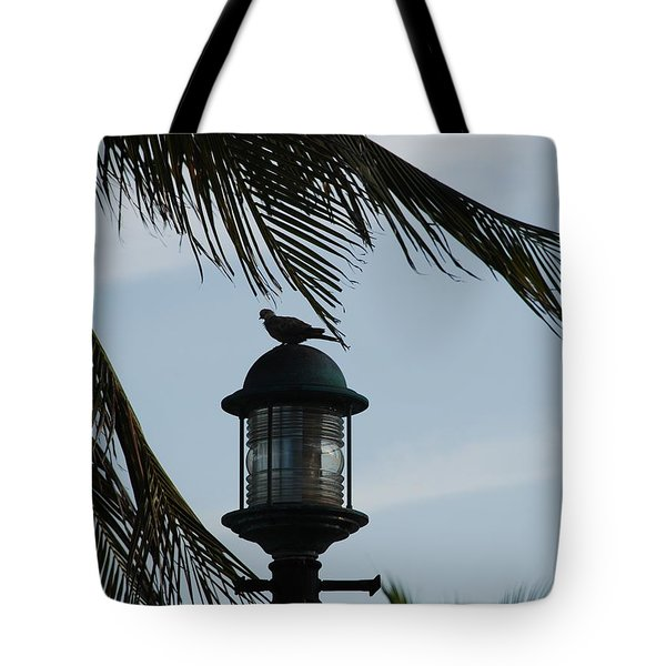 Bird On A Light Tote Bag by Rob Hans