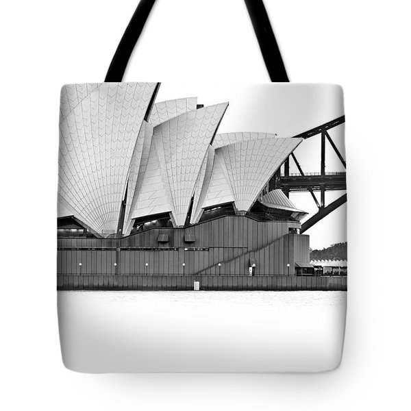 Bird On The Harbour Tote Bag