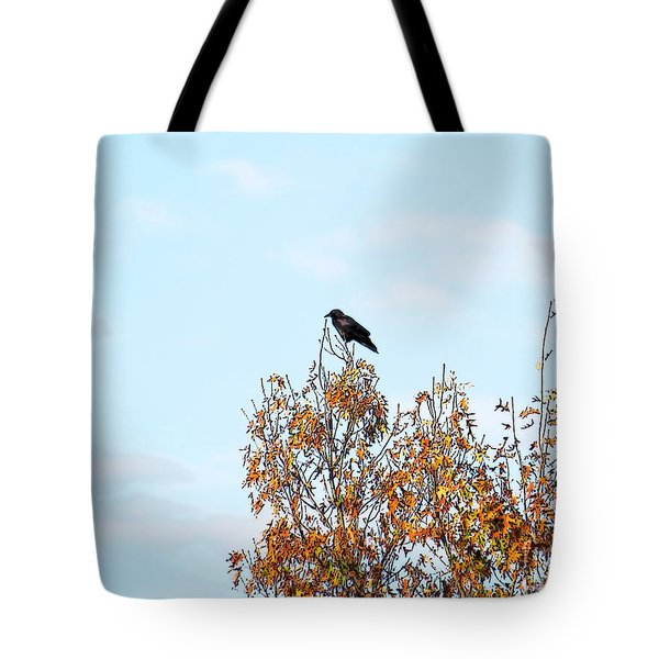 Bird On Tree Tote Bag by Craig Walters