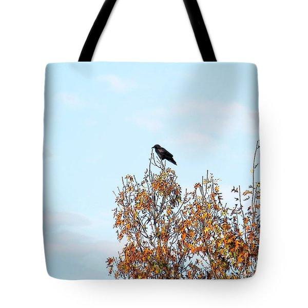 Bird On Tree Tote Bag