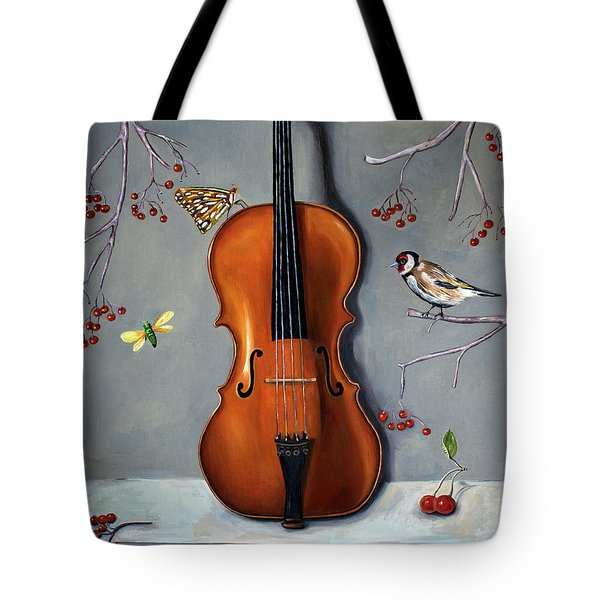 Bird Song Tote Bag