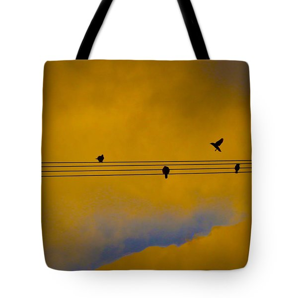 Bird Song Tote Bag by Mark Blauhoefer