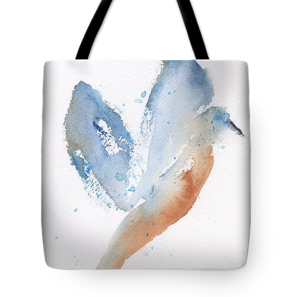 Bird Takes Flight  Tote Bag