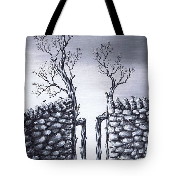Bird Tree Tote Bag by Kenneth Clarke