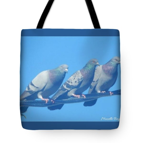 Bird Trio Tote Bag