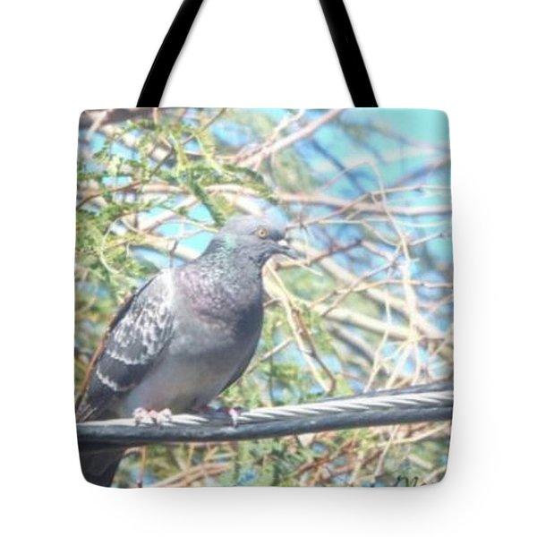 Bird Watchman Tote Bag