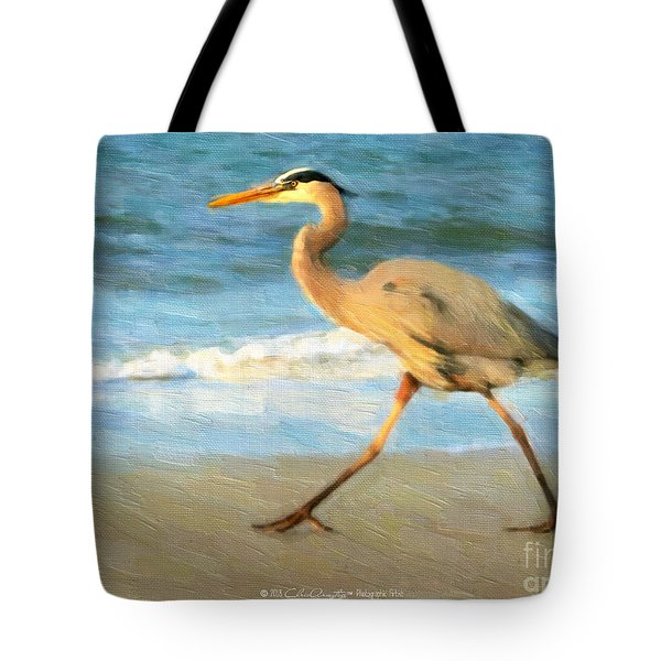 Bird With A Purpose Tote Bag