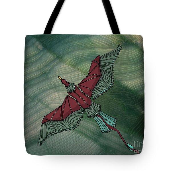 birdEYE volcano III Tote Bag