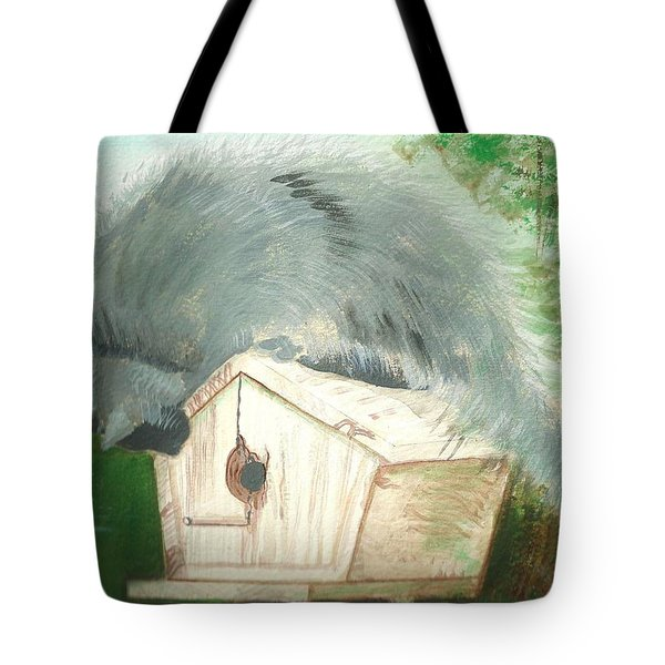 Birdie In The Hole Tote Bag