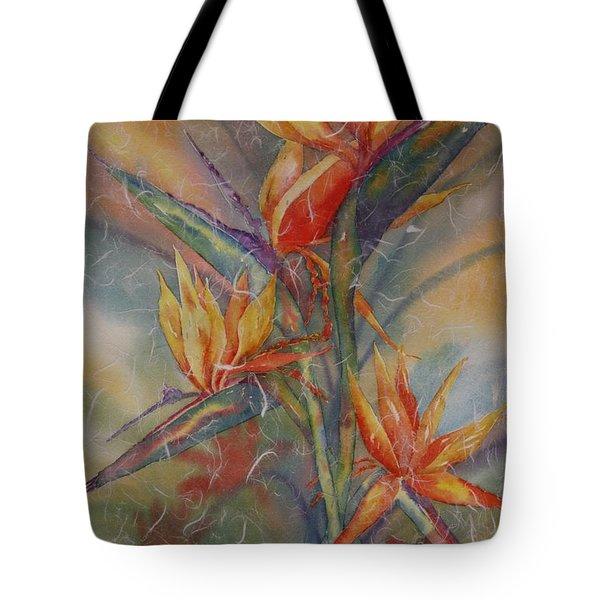 Birdies Tote Bag by Tara Moorman