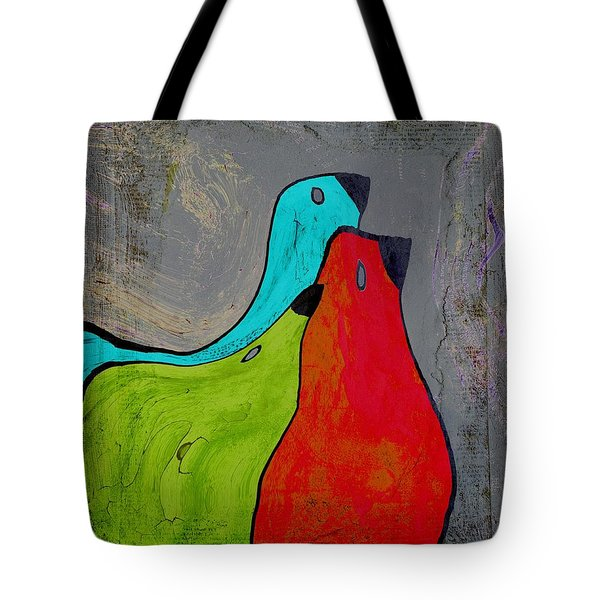 Birdies - V110b Tote Bag by Variance Collections