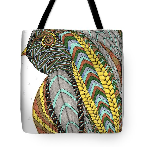 Bird_inquisitive_s007 Tote Bag