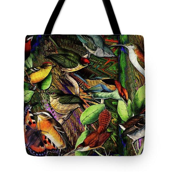 Birdland Tote Bag by Joseph Mosley