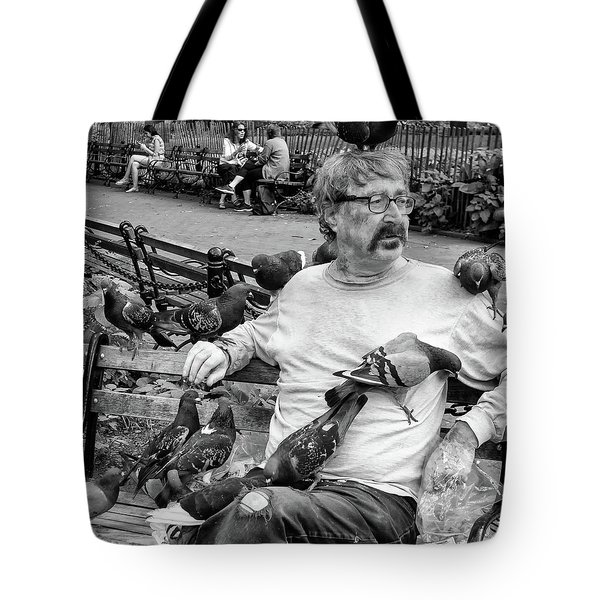 Tote Bag featuring the photograph Birdman Of Wsp by Eric Lake