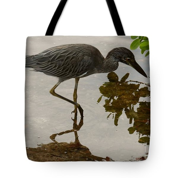 Birdreflections Tote Bag