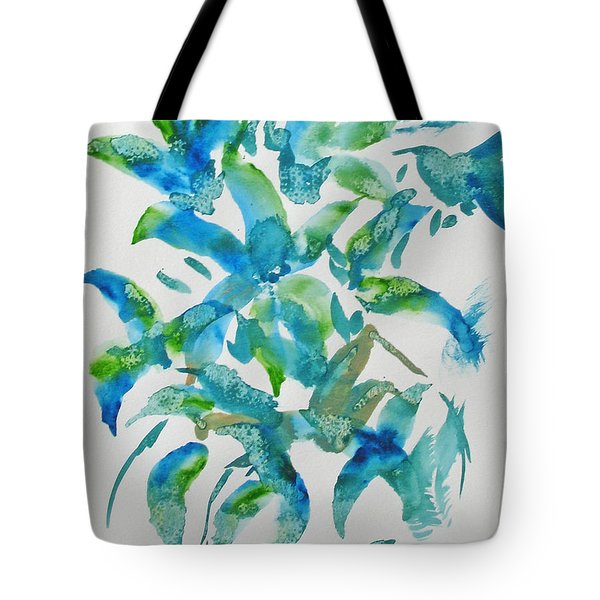 Birds And Blooms Tote Bag