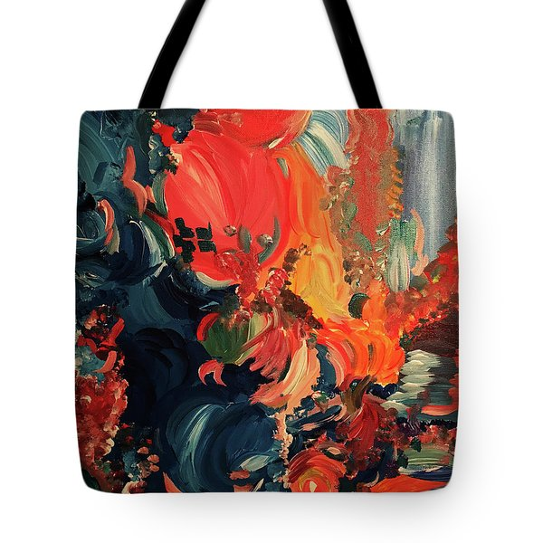 Birds And Creatures Of Paradise Tote Bag