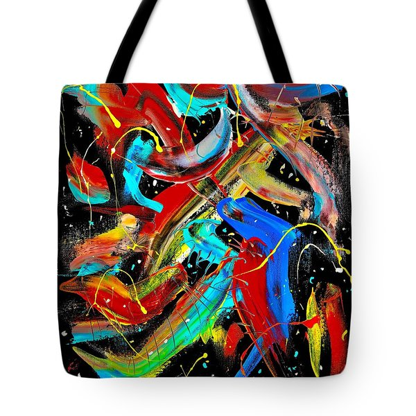 Birds Are Fish Tote Bag