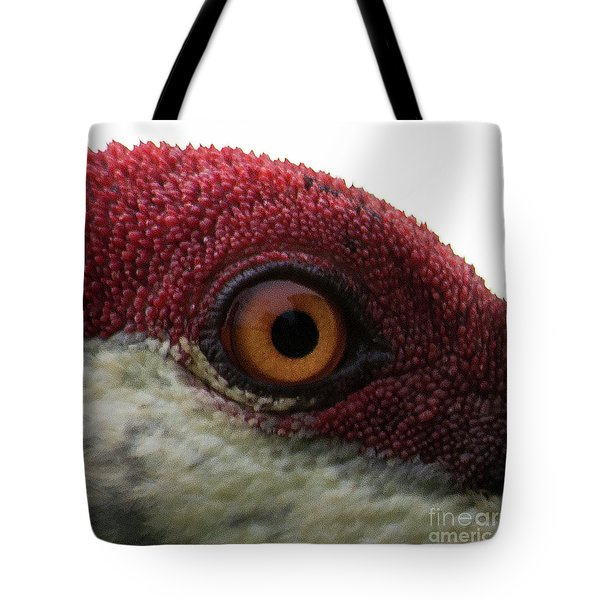 Tote Bag featuring the photograph Birds Eye by Brian Jones