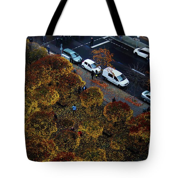 Tote Bag featuring the photograph Bird's Eye Over Berlin by Ana Mireles