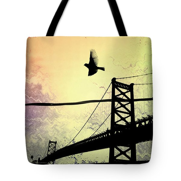 Birds Eye View Tote Bag by Bill Cannon