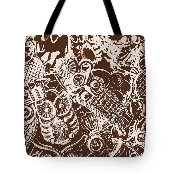 Birds From The Old World Tote Bag