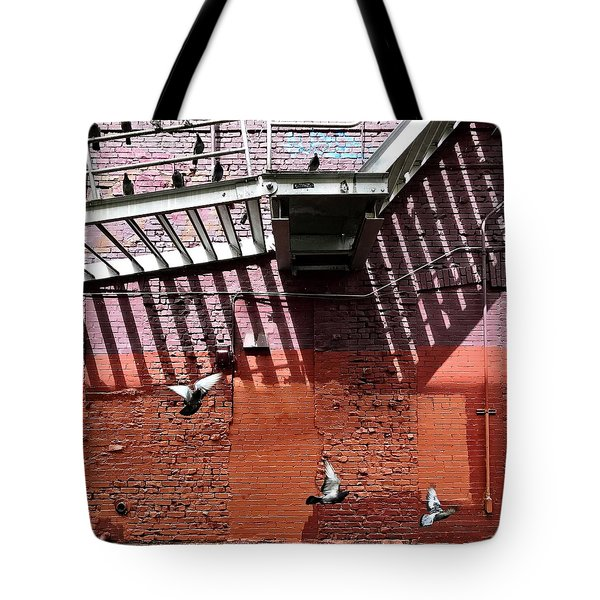Birds In Flight Tote Bag