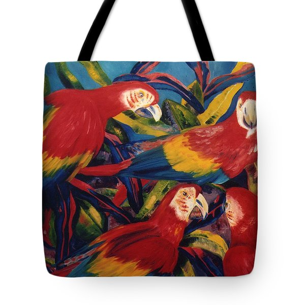 Birds In The Wild Tote Bag