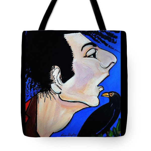 Birds Nest  Abstract Tote Bag