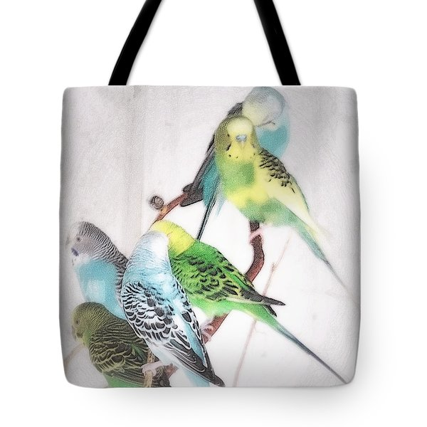 Birds Of A Feather Tote Bag by Robin Regan