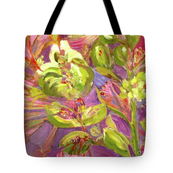 Birds Of Paradise Tote Bag