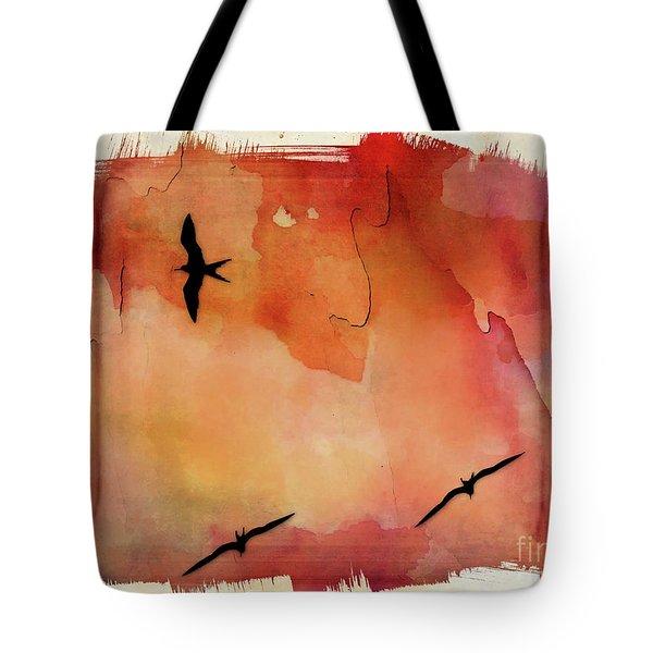 Birds Of Pedasi, In The Dry Arc Of Panama II Tote Bag