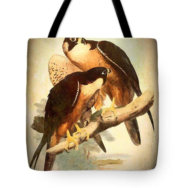 Birds Of Prey 2 Tote Bag