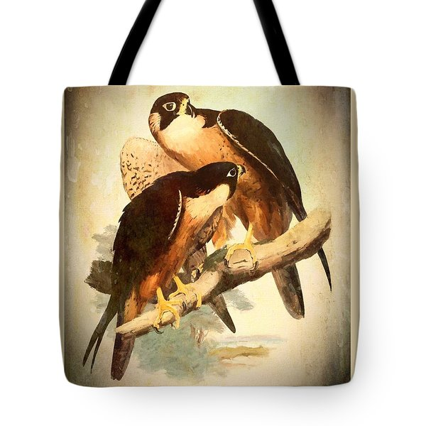 Birds Of Prey 2 Tote Bag
