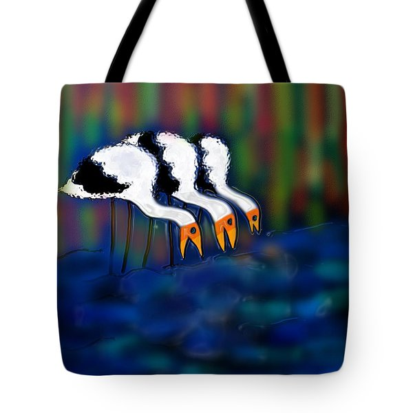 Birds Of Same Feather Tote Bag