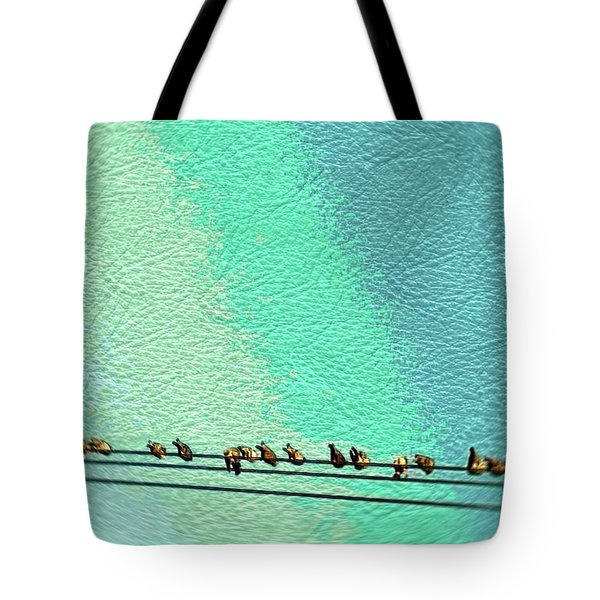 Bird On The Wire Tote Bag