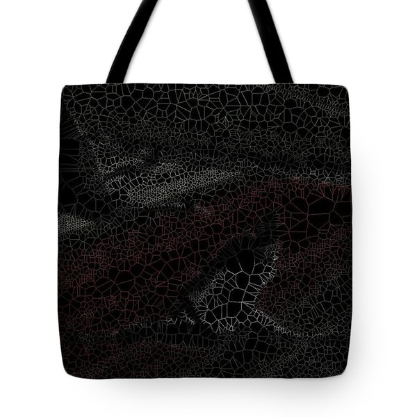 Birds Over Crops Tote Bag
