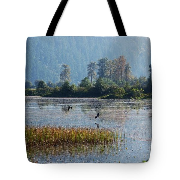 Birds Paradise Tote Bag by Victor K