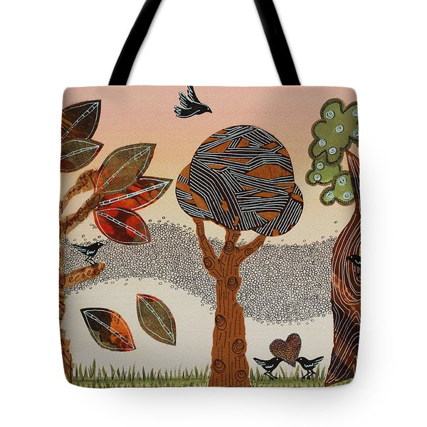 Birds Refuge Tote Bag