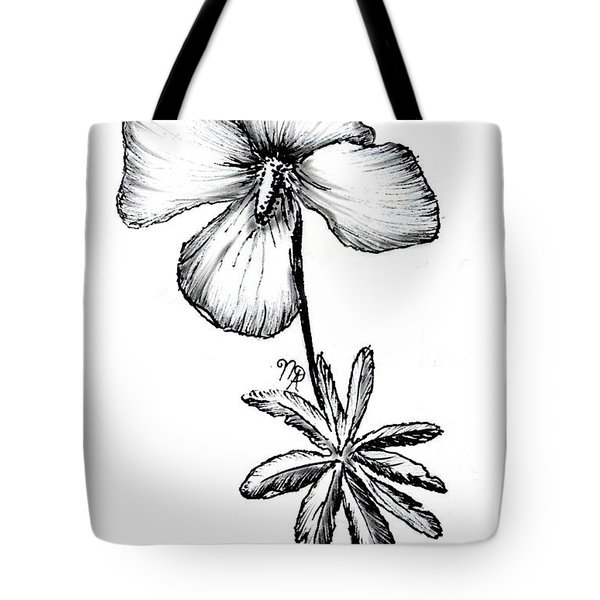 Birdsfoot Violet Tote Bag