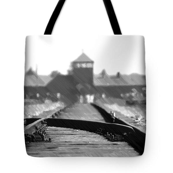 Birkenau / Auschwitz Railhead - Pol402324 Tote Bag