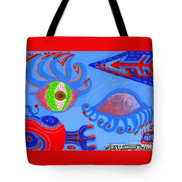Birth And Death Tote Bag by Peter Gumaer Ogden