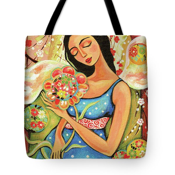 Birth Flower Tote Bag