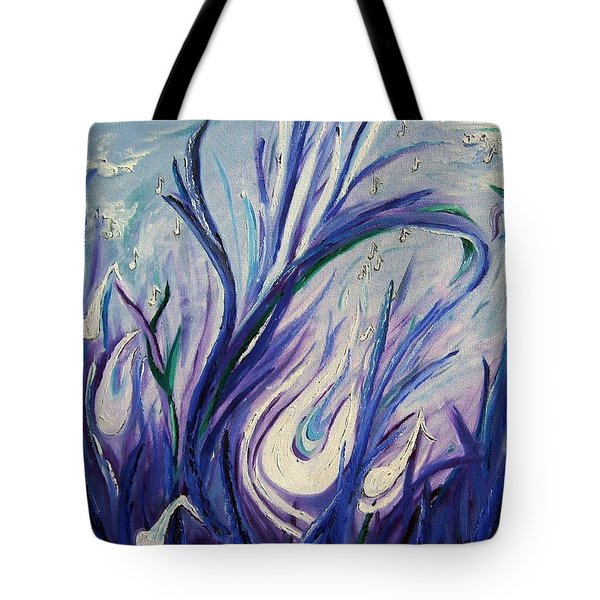 Birth Of Music Tote Bag