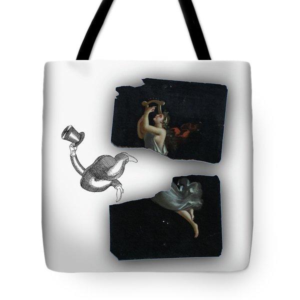Birth Of Terpsichore Tote Bag