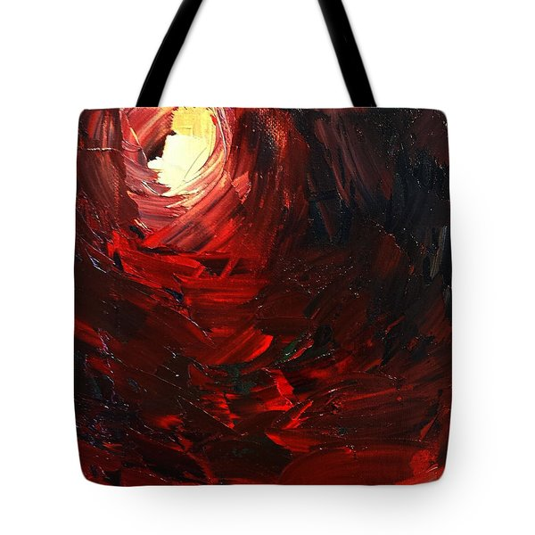 Tote Bag featuring the painting Birth by Sheila Mcdonald