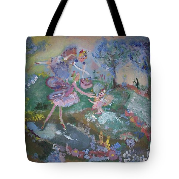 Birthday Fairy Tote Bag by Judith Desrosiers