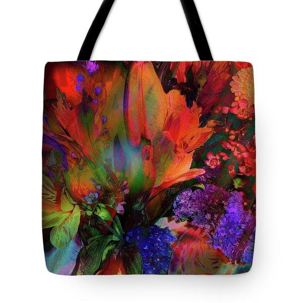 Birthday Flowers Tote Bag
