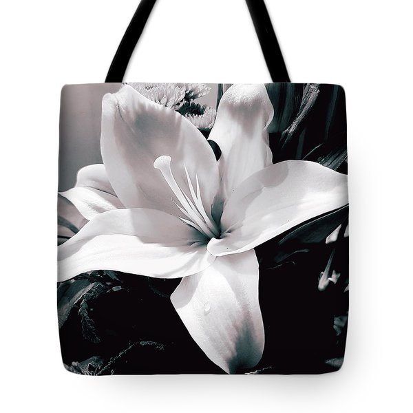Birthday Lily Tote Bag