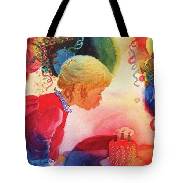 Birthday Party Tote Bag by Marilyn Jacobson